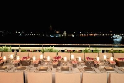 The Armani beauty dinner during the 78th Venice International Film Festival Of La Biennale Di Venezia